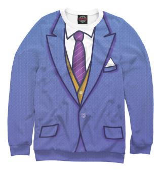 Одежда с принтом Синий костюм