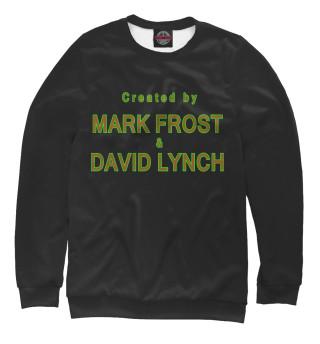 Одежда с принтом Created by Mark Frost & David Lynch
