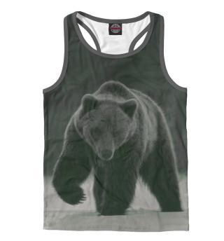 Майка борцовка мужская Медведь (7255)
