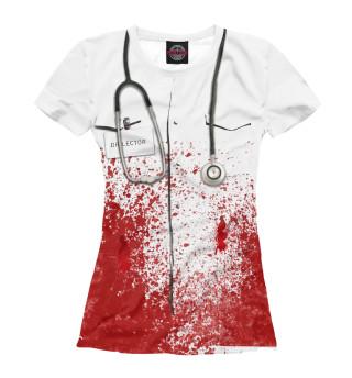 Футболка женская bloody doctor