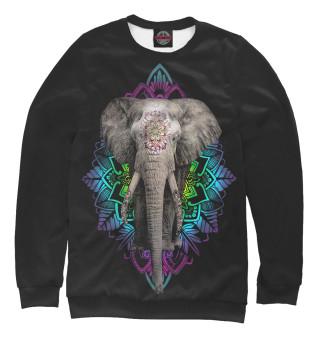 Одежда с принтом Индийский слон