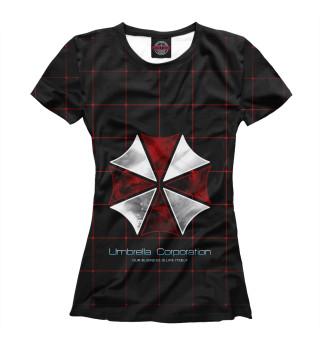 Футболка женская Umbrella Corporation