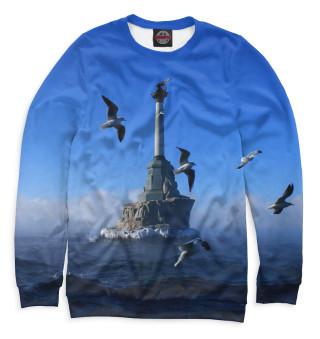 Одежда с принтом Памятник затопленным кораблям