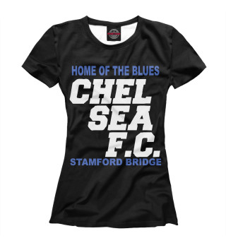 Футболка женская Chelsea (5801)