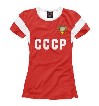 Футболка женская СССР (8088)