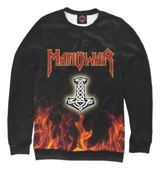 Одежда с принтом Manowar (770744)