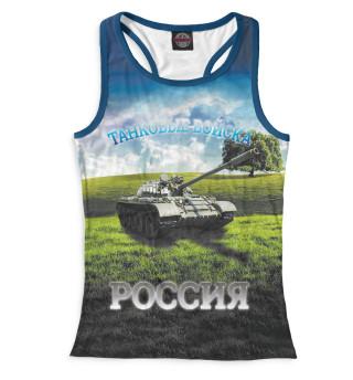 Майка борцовка женская Танковые войска (3304)