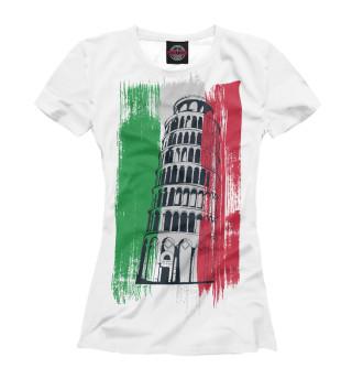 Футболка женская Италия