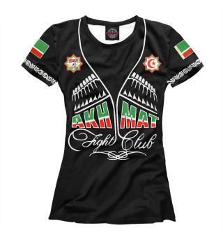 Футболка женская Akhmat - Fight Club (5893)
