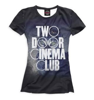 Футболка женская Two Door Cinema Club (1426)