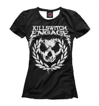 Футболка женская Killswitch Engage