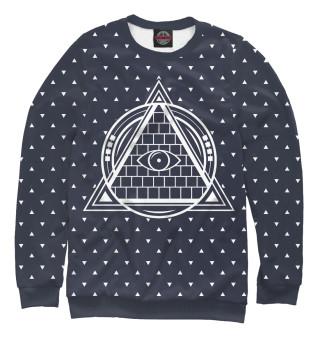 Одежда с принтом Illuminati