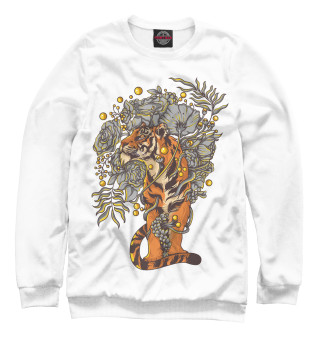 Одежда с принтом Путь тигра