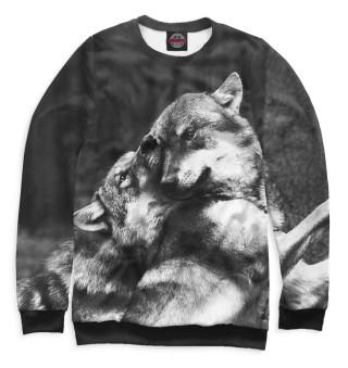 Одежда с принтом Волки (653371)