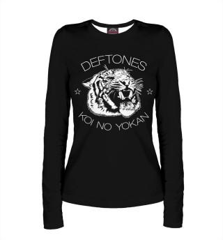 Лонгслив  женский Deftones (3050)