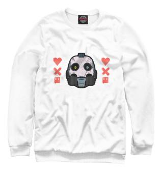Одежда с принтом Любовь смерть + роботы