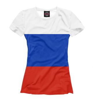 Футболка женская Символика России