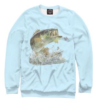 Одежда с принтом Рыбалка
