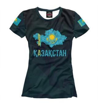 Футболка женская Kazakhstan (7906)