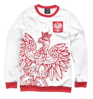 Одежда с принтом Польша