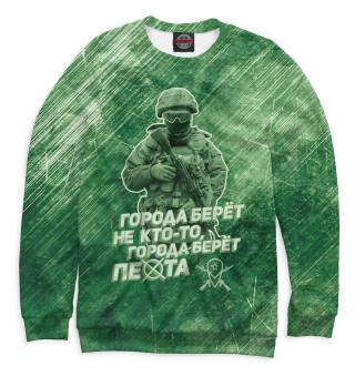 Одежда с принтом Города берет пехота (718922)