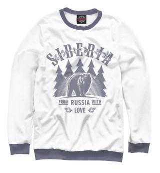 Одежда с принтом Сибирь (740009)