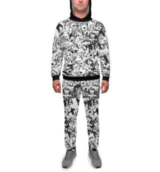 Спортивный костюм  мужской Ahegao (6496)