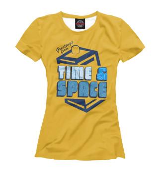 Футболка женская Time & Space