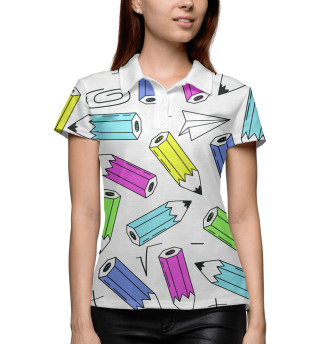Поло женское The pencils