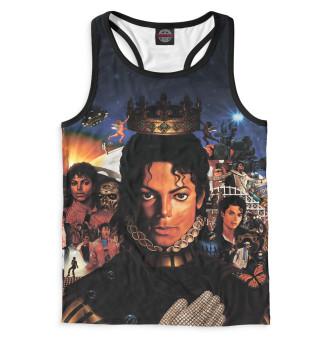 Майка борцовка мужская Michael Jackson (9702)