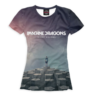 Футболка женская Imagine Dragons (2973)
