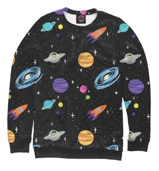 Одежда с принтом Bright Space