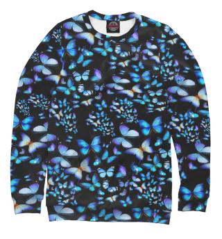 Одежда с принтом Бабочки fashion
