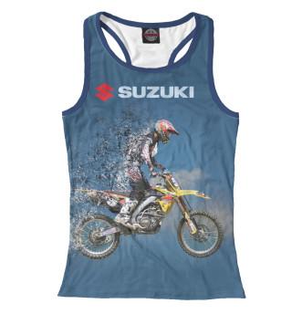 Майка борцовка женская Suzuki (4010)