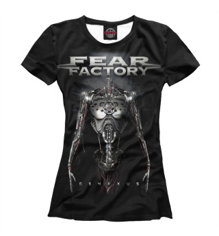 Футболка женская Fear Factory (2050)