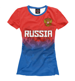 Футболка женская Russia