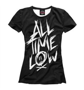 Футболка женская All Time Low (8340)