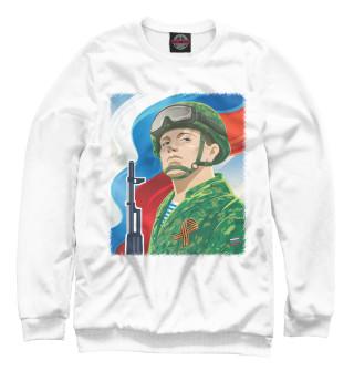 Одежда с принтом Русский Солдат