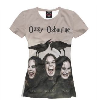 Футболка женская Ozzy Osbourne (8323)