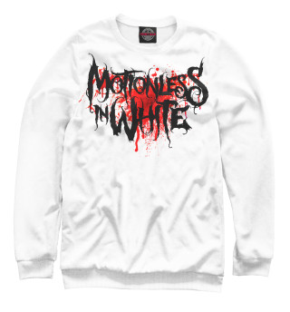 Одежда с принтом Motionless In White Blood Logo