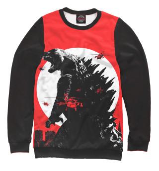 Одежда с принтом Godzilla