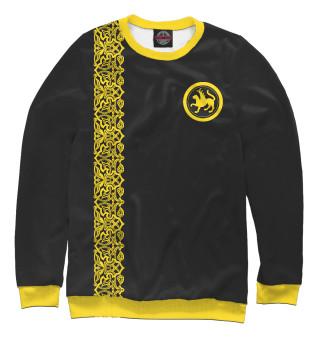 Одежда с принтом Золотой татарин
