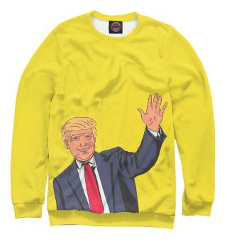 Одежда с принтом Trump