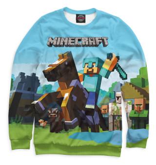 Одежда с принтом Minecraft