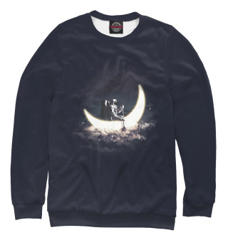 Одежда с принтом Лунная лодка