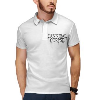 Поло мужское Cannibal Corpse