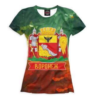 Футболка женская Воронеж (6264)