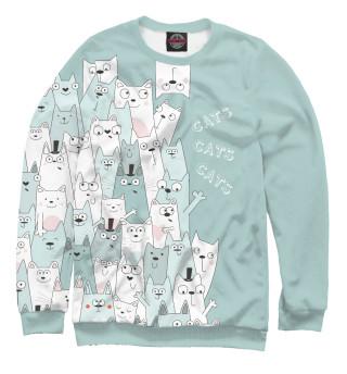 Одежда с принтом Коты (700193)