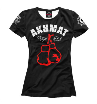 Футболка женская Akhmat Fight Club