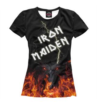 Футболка женская Iron Maiden (4992)